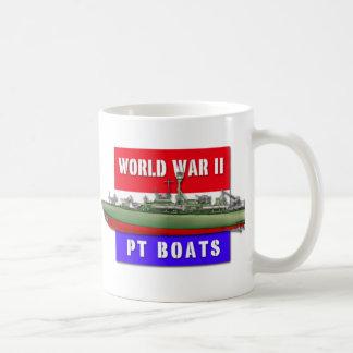 World War II PT Boats Basic White Mug