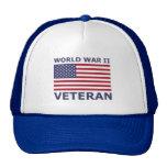 WORLD WAR II VETERAN CAP