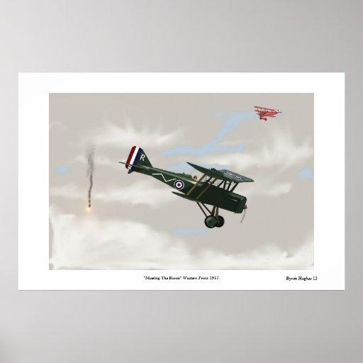 World War One Dogfight Print
