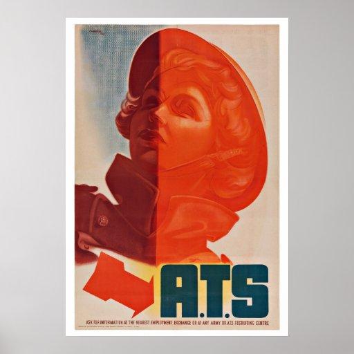 World War One UK - Vintage Patriotism Posters