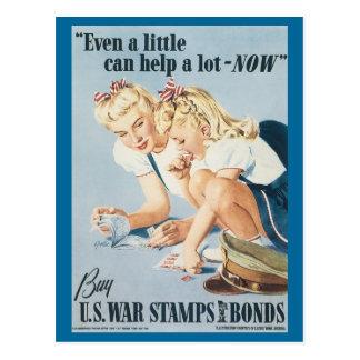 World War Postcards War Bonds Poster - Pin up