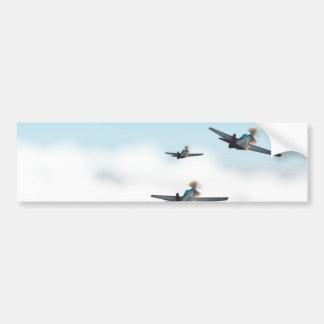 World War Two Aeroplanes Bumper Stickers