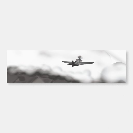 World War Two Aeroplanes Bumper Stickers