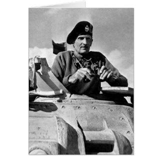 world war two ii bernard montgomery 1942 card