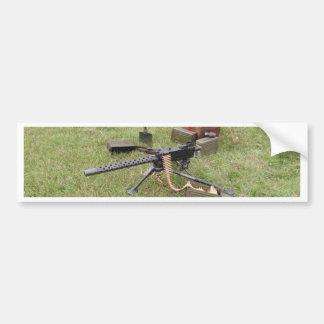 World War Two Machine Gun Bumper Sticker