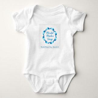 World water day March 22 Baby Bodysuit