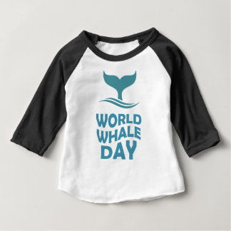 World Whale Day - 18th February - Appreciation Day Baby T-Shirt