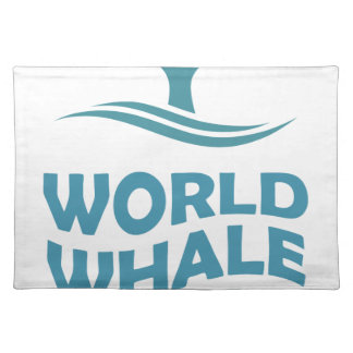 World Whale Day - 18th February - Appreciation Day Place Mat