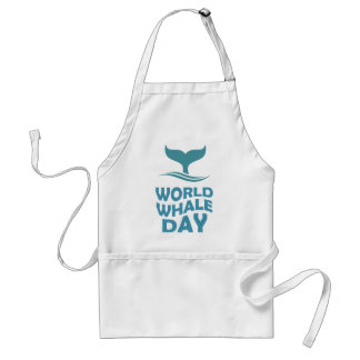 World Whale Day - 18th February - Appreciation Day Standard Apron