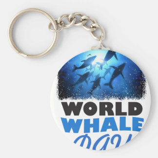 World Whale Day - Appreciation Day Key Ring