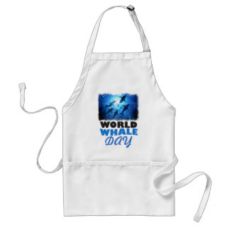 World Whale Day - Appreciation Day Standard Apron