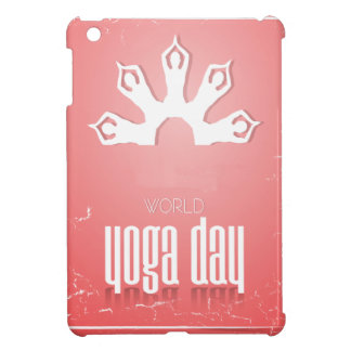 World Yoga Day - Appreciation Day Cover For The iPad Mini
