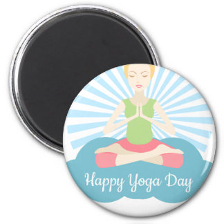 World Yoga Day - Appreciation Day Magnet