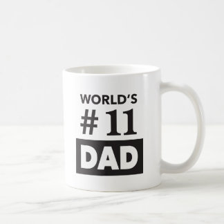 "World's #11 Dad - ""Typo"" Mug"
