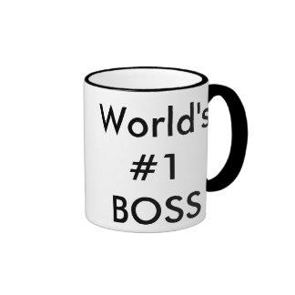 world's #1 boss ringer mug