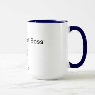 World's 2nd Best Boss Mug