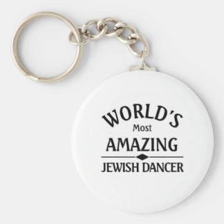 World's amazing Jewish Dancer Key Ring