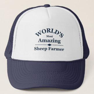 World's amazing Sheep Farmer Trucker Hat