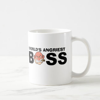 World's Angriest Boss Coffee Mug