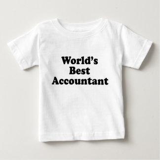 World's Best Accountant Baby T-Shirt