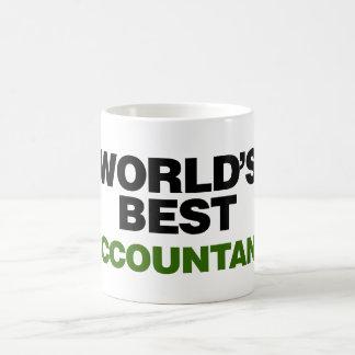 World's Best Accountant Basic White Mug