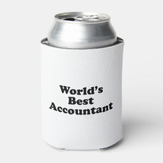 World's Best Accountant Can Cooler