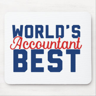 World's Best Accountant Mouse Pad
