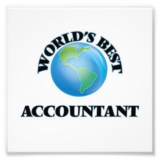 World's Best Accountant Art Photo