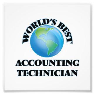 World's Best Accounting Technician Photo