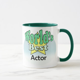 World's best actor mug