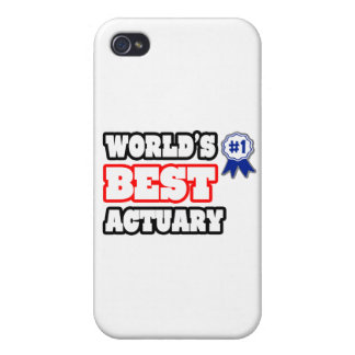 World's Best Actuary iPhone 4/4S Cover
