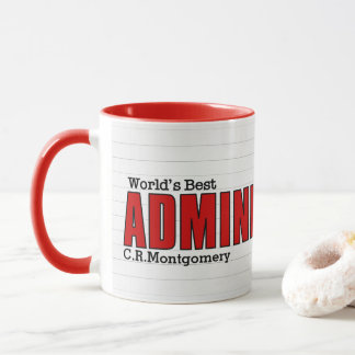World's Best Administrative Professional Lined Mug