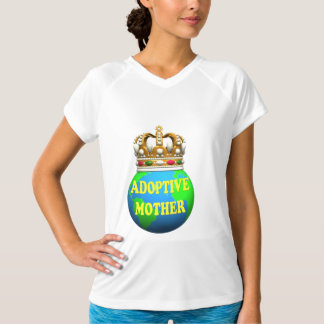 World's Best Adoptive Mother Mothers Day Gifts T Shirts