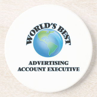 World's Best Advertising Account Executive Coaster