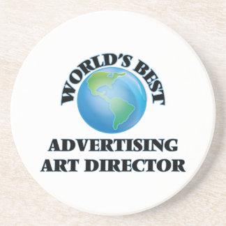 World's Best Advertising Art Director Drink Coasters