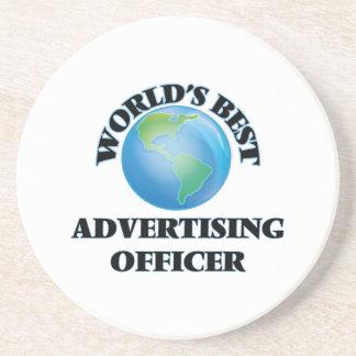 World's Best Advertising Officer Coaster