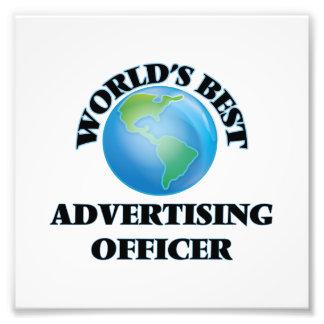 World's Best Advertising Officer Photograph