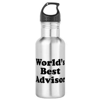 World's Best Advisor 532 Ml Water Bottle