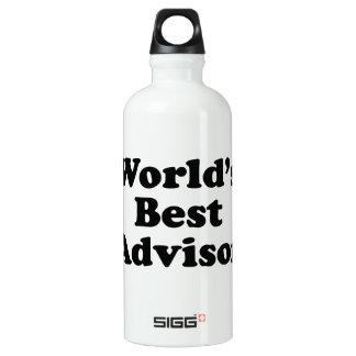World's Best Advisor Water Bottle