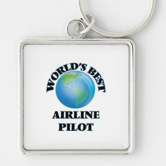 World's Best Airline Pilot Key Chain