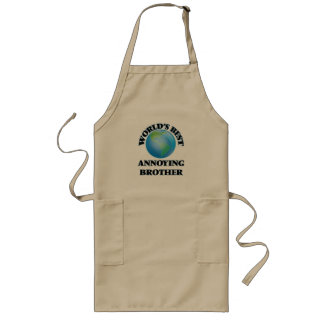 World's Best Annoying Brother Aprons