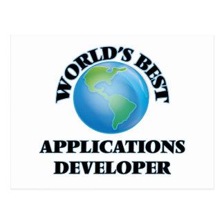 World's Best Applications Developer Post Cards