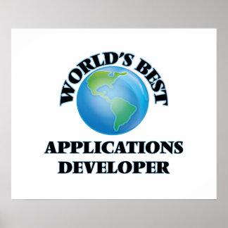World's Best Applications Developer Poster