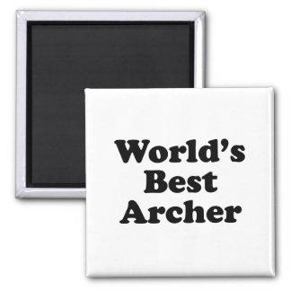 World's Best Archer Magnet