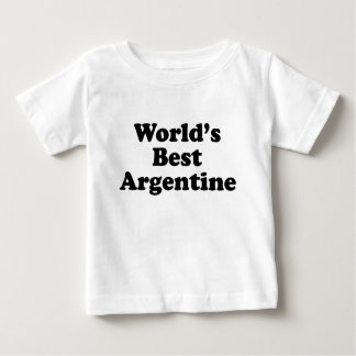 World's Best Argentine Baby T-Shirt