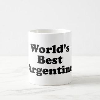 World's Best Argentine Coffee Mug
