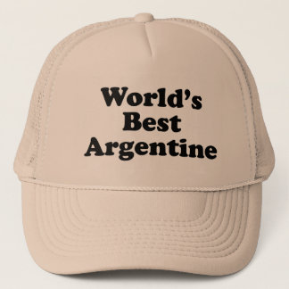 World's Best Argentine Trucker Hat