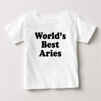 World's Best Aries Baby T-Shirt