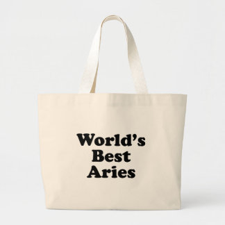 World's Best Aries Large Tote Bag