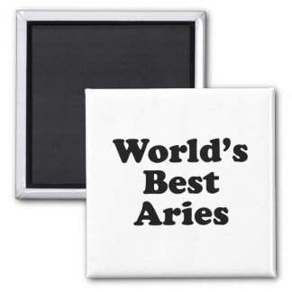 World's Best Aries Magnet